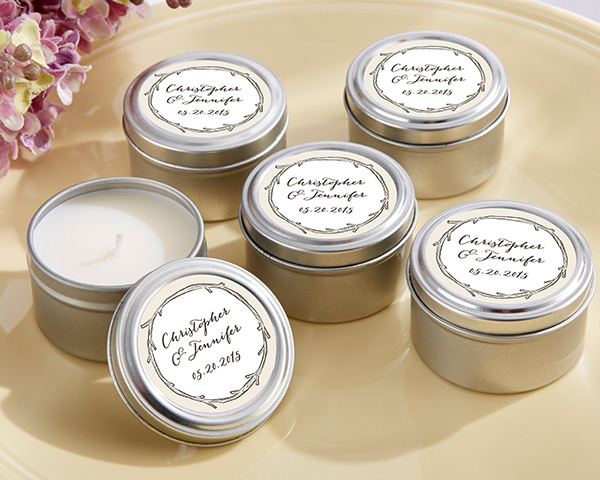 Personalized Travel Candle: The Hunt Is Over