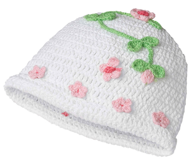 Lillian Rose Blessing Crocheted Cap
