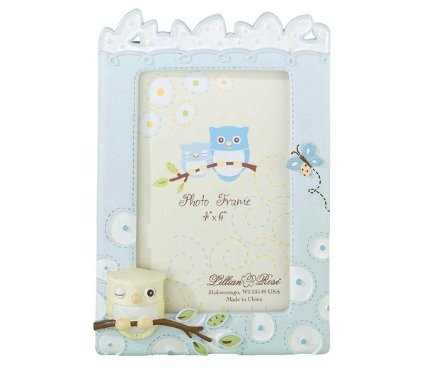 Lillian Rose Blue Owl 4 x 6 Frame