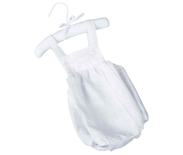Lillian Rose White Baby Romper (0-6 months)