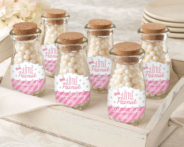 Personalized Milk Jar, Little Peanut: Set of 12 (CLON)
