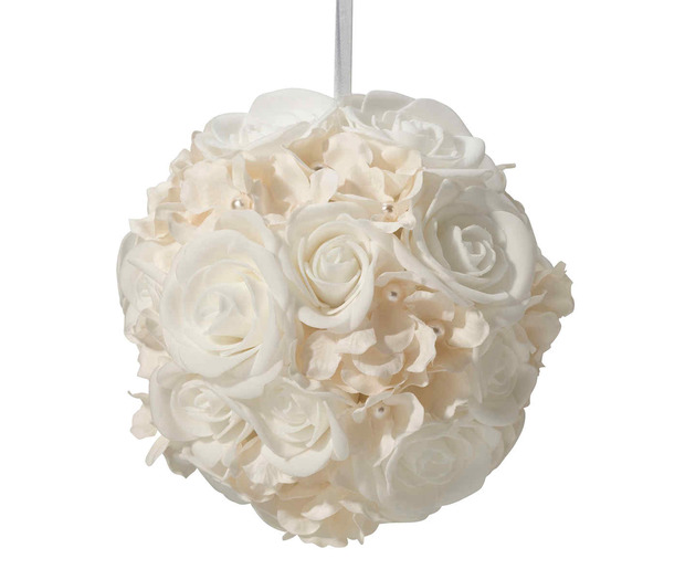 Lillian Rose Ivory Flower Ball