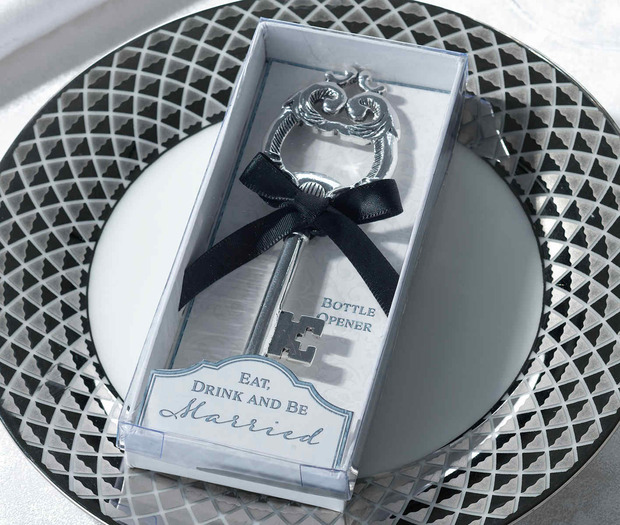 Lillian Rose Key Bottle Opener Favor