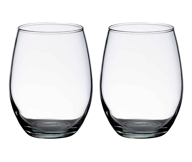 Lillian Rose Set of 2 Stemless Wine Glasses