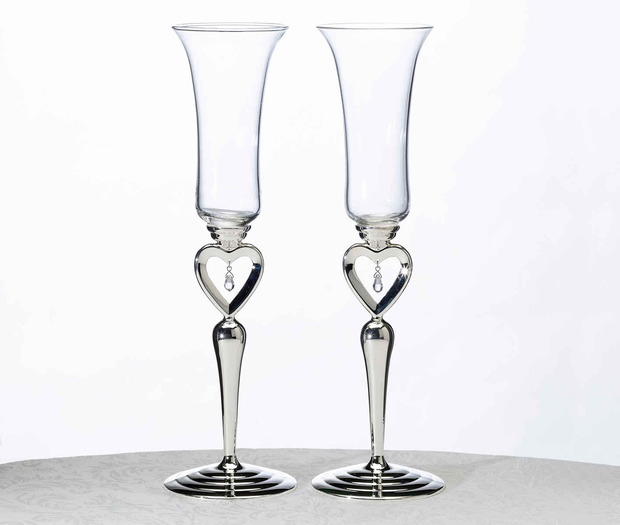 Lillian Rose Dangling Jewel Glasses