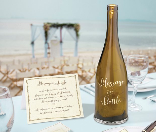 Lillian Rose Message In Bottle - Decal