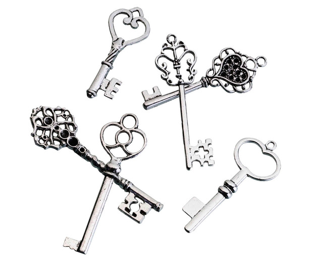 Lillian Rose 24 Silver Keys