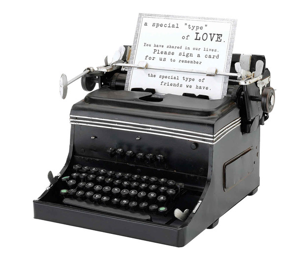 Lillian Rose 1945 Mini Typewriter