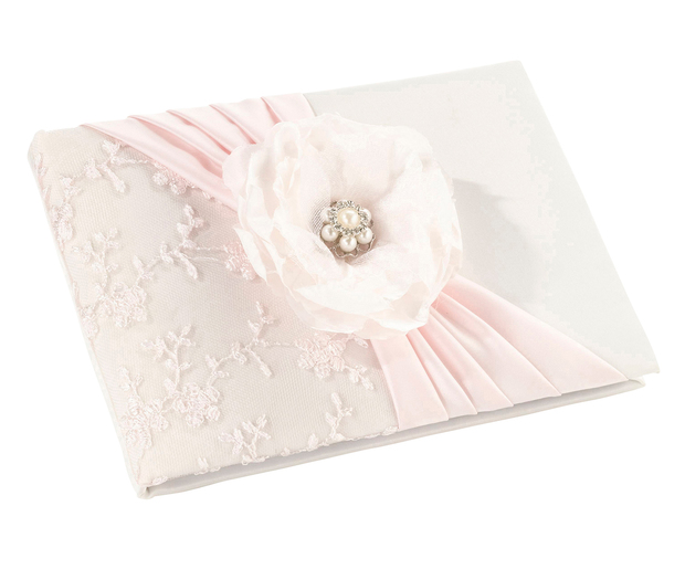 Lillian Rose Blush Pink Guest Book