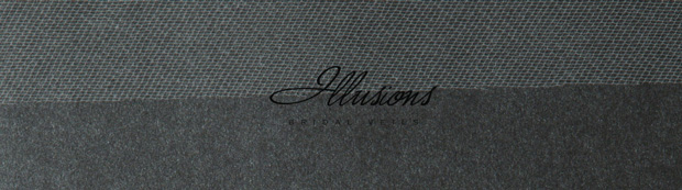 Illusions Bridal Cut Edge Veil 1-901-CT: Rhinestone Accent