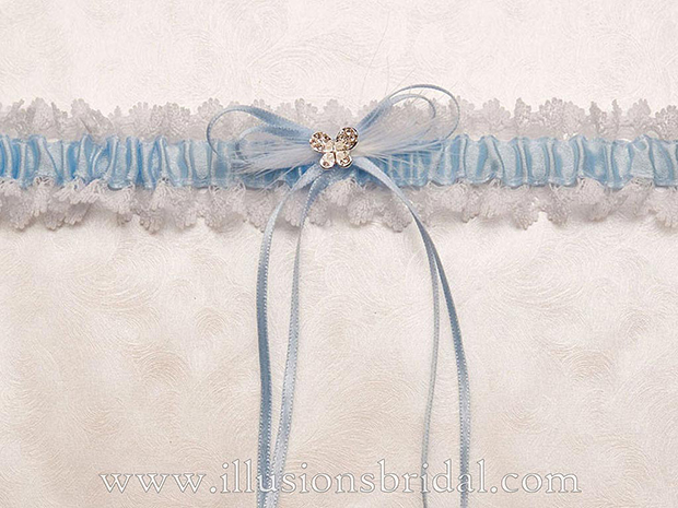 Illusions Bridal Bridal Garters and Purses 1003