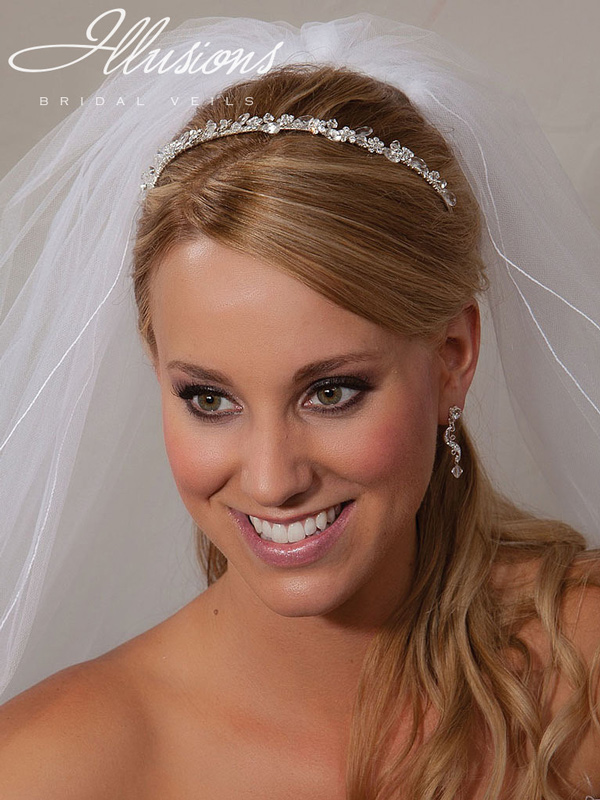 Illusions Bridal Headpieces 2859