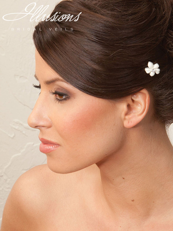 Illusions Bridal Hair Accessories 3247: Ivory