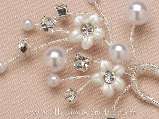Illusions Bridal Hair Accessories 3282