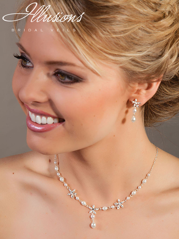 Illusions Bridal Bridal Jewelry 940: Delicate