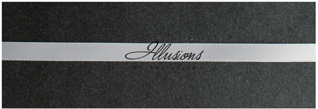 Illusions Bridal Ribbon Edge Wedding Veil C5-152-3R: 2 Tier, Pearl Accent