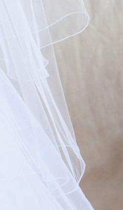 Illusions Bridal Colored Veils and Edges C7-362-C-WS