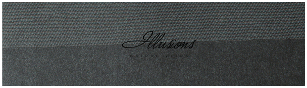 Illusions Bridal Cut Edge Veil S1-202-CT: Rhinestone Accent