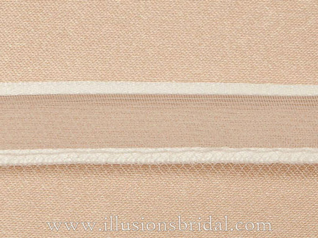 Illusions Bridal Ribbon Edge Veil S1-252-1SR