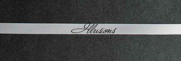 Illusions Bridal Ribbon Edge Veil S1-252-3R: Rhinestone Accent