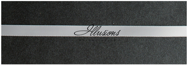 Illusions Bridal Ribbon Edge Veil S1-452-3R: Pearl Accent