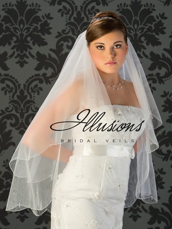 Illusions Bridal Beaded and Specialty Veils V-749
