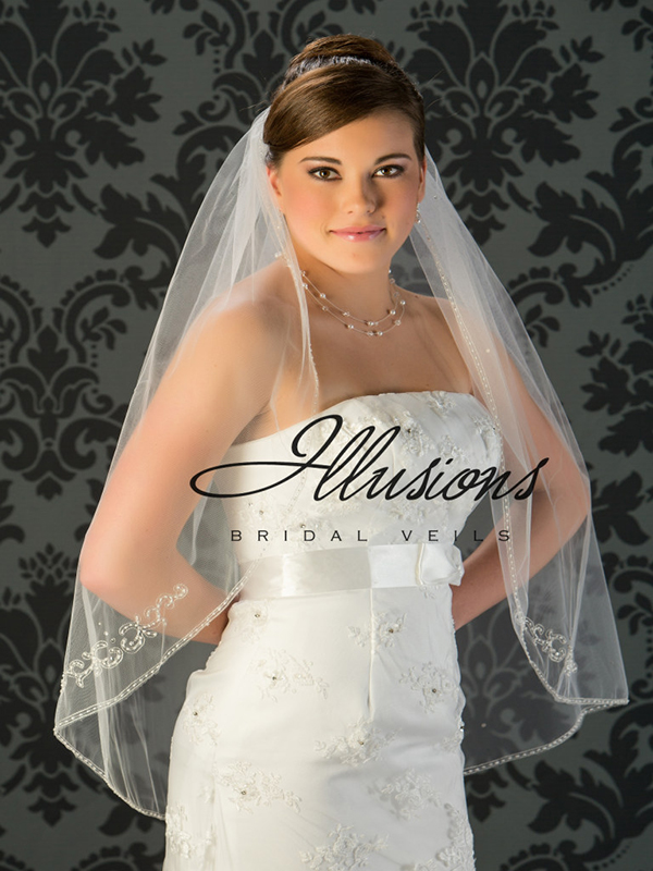 Illusions Bridal Beaded and Specialty Veils V-772