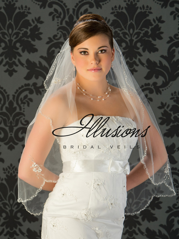 Illusions Bridal Beaded And Specialty Veils V-794