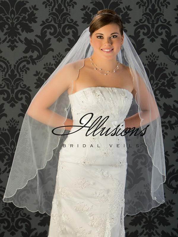 Illusions Bridal Beaded and Specialty Veils V-795