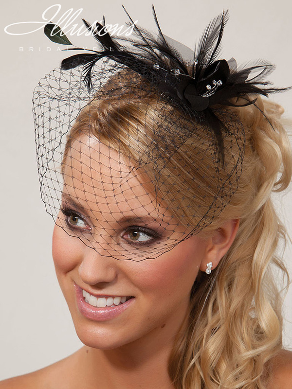 Illusions Bridal Visor Veils VS-7043