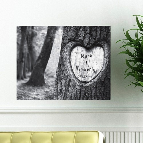 JDS Canvas Print: Tree of Love