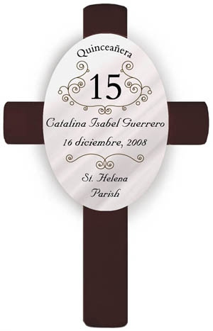 JDS Quinceanera Cross