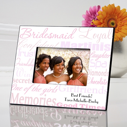 JDS Personalized Frame: Bridesmaid