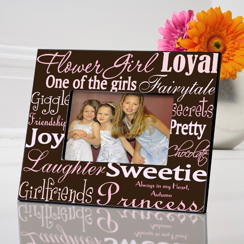 JDS Personalized Flower Girl Frames