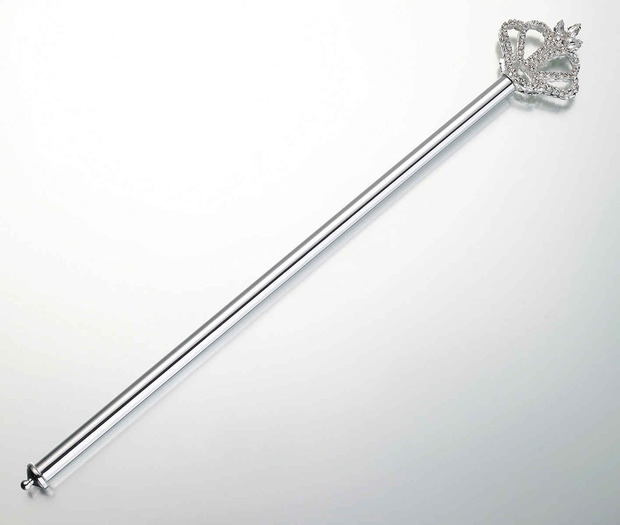 Lillian Rose Rhinestone Scepter Crown