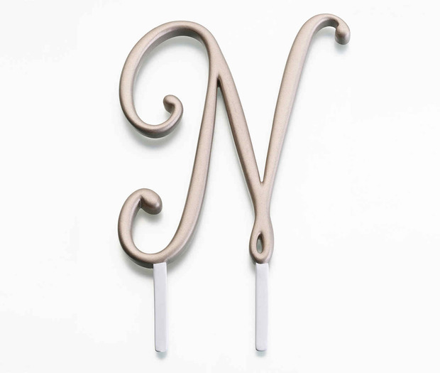 Lillian Rose Gold Monogram - N