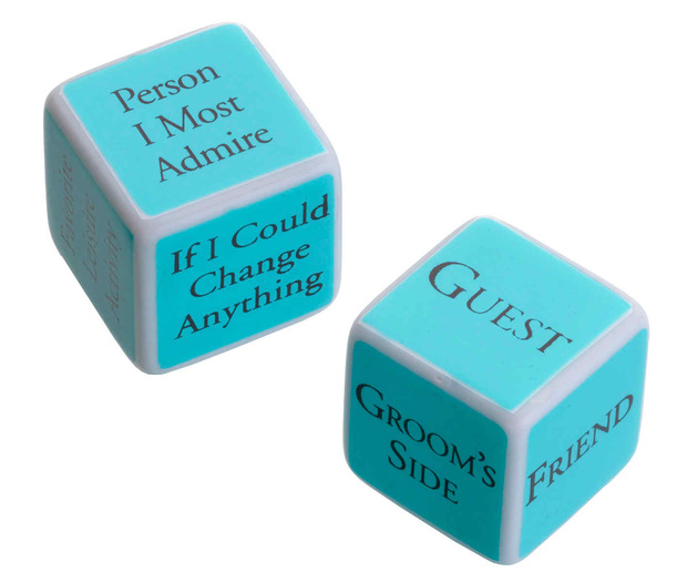 Lillian Rose Bridal Shower Game Dice