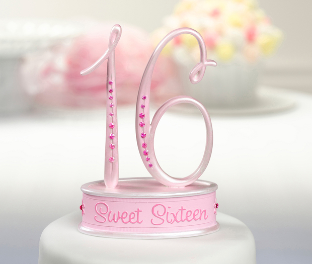 Lillian Rose Sweet Sixteen Caketop