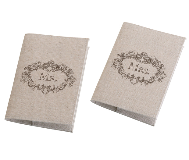 Lillian Rose Mr. & Mrs. Tan Passport Covers