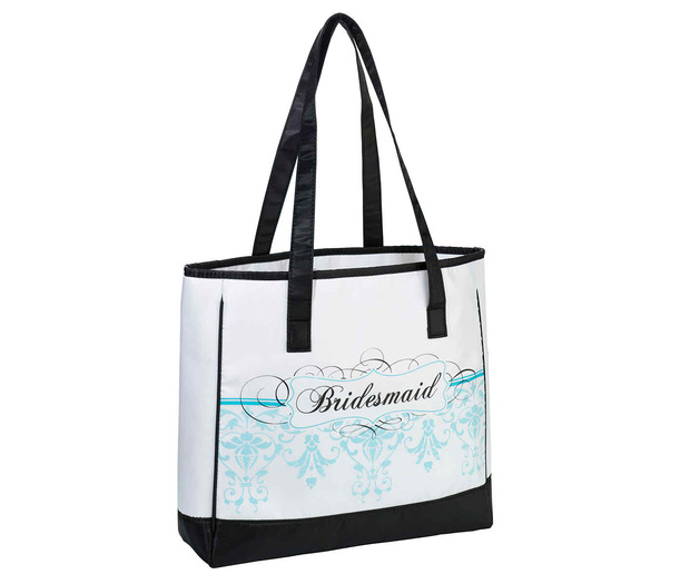 Lillian Rose Bridesmaid Tote - Aqua
