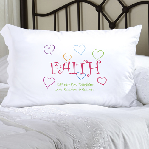 JDS Personalized Faithful Pillow Cases