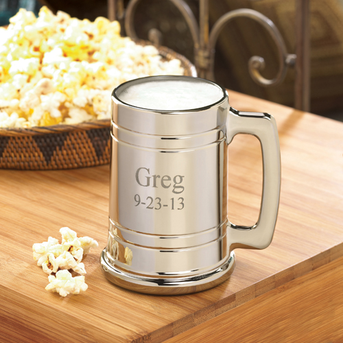 JDS Personalized Gunmetal Mug