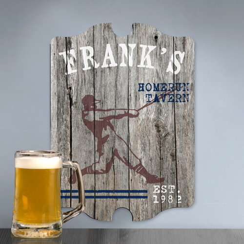 JDS Personalized Vintage Sports Man Cave Pub Sign