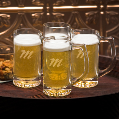 JDS Personalized Tavern Mug: Set of 4, 13 oz