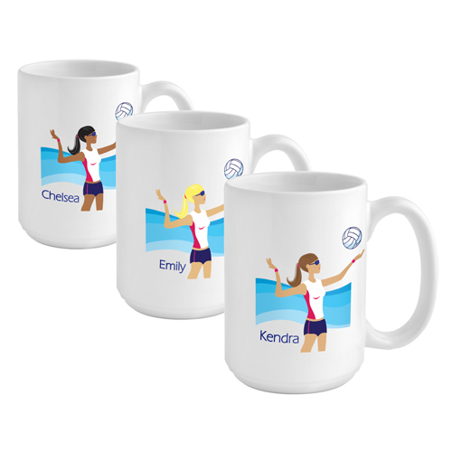 "JDS Personalized ""Go-Girl"" Coffee Mug"