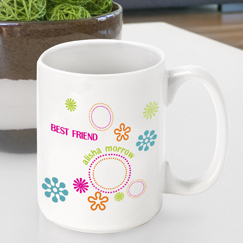 JDS Personalized Groovy Coffee Mug