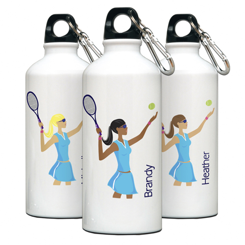 "JDS Personalized Water Bottle: ""Go-Girl"""