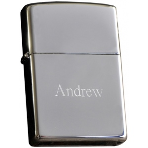 JDS Zippo Lighter: High Polish, Chrome