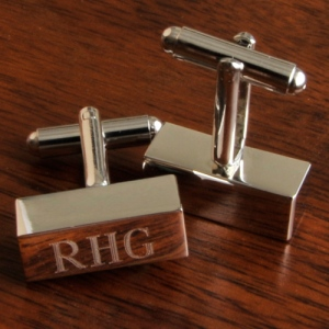 JDS Personalized Cufflink Bars