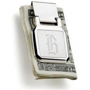 JDS Personalized Money Clip: Dalton Folding